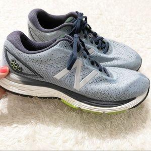 New Balance Mens Blue Running Sneakers